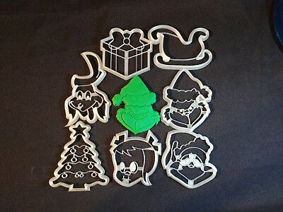 The Grinch Cookie Cutters | eBay