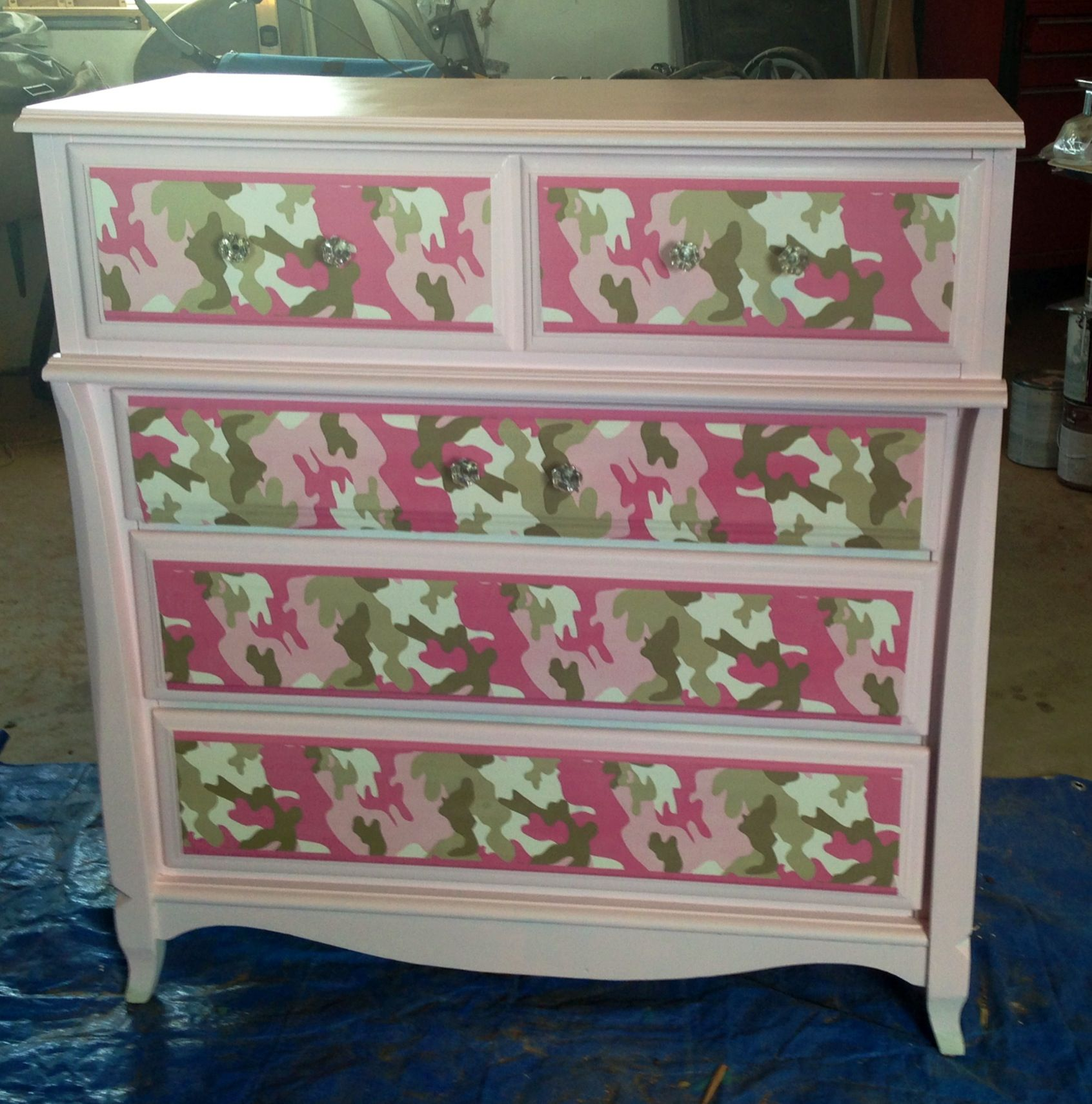 Pink Camo Bedroom Decor Pink Camo Dresser For Our Daughter Used Pink Camo Wallpaper Baby