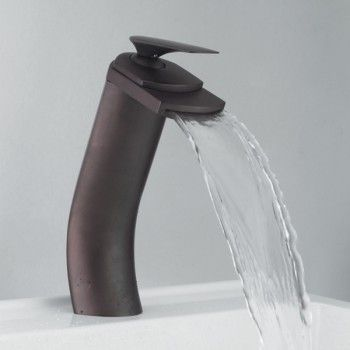 Froggy 2 10 5 Inch Oil Rubbed Bronze Waterfall Faucet Oil Rubbed Bronze Bathroom Waterfall Faucet Oil Rubbed Bronze