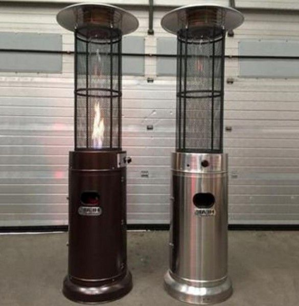 Quartz Tube Gas Flame Patio Heater