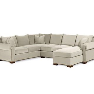 Thomasville Fremont Sectional Sofa This Is Really Big And Has A Chaise I Don T Know The Size You Guys Want I M Sur Thomasville Furniture Furniture Sectional