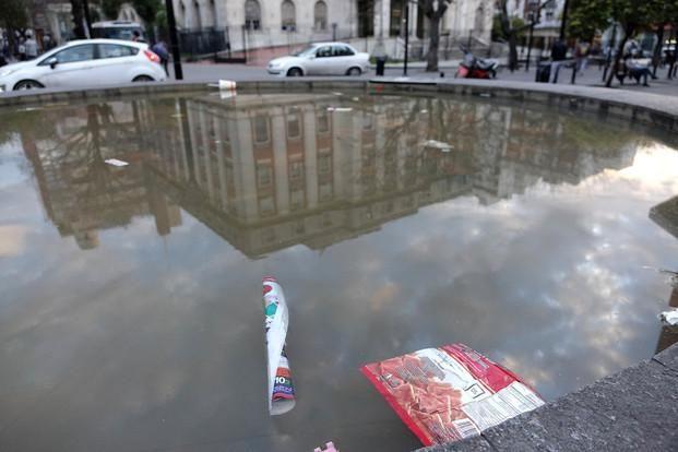 Las fuentes de La Plata, condenadas al abandono La Ciudad