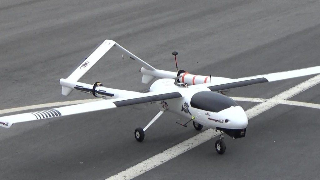 VTOL Long Range surveillance Drone 40 kmThis is Ready to fly
