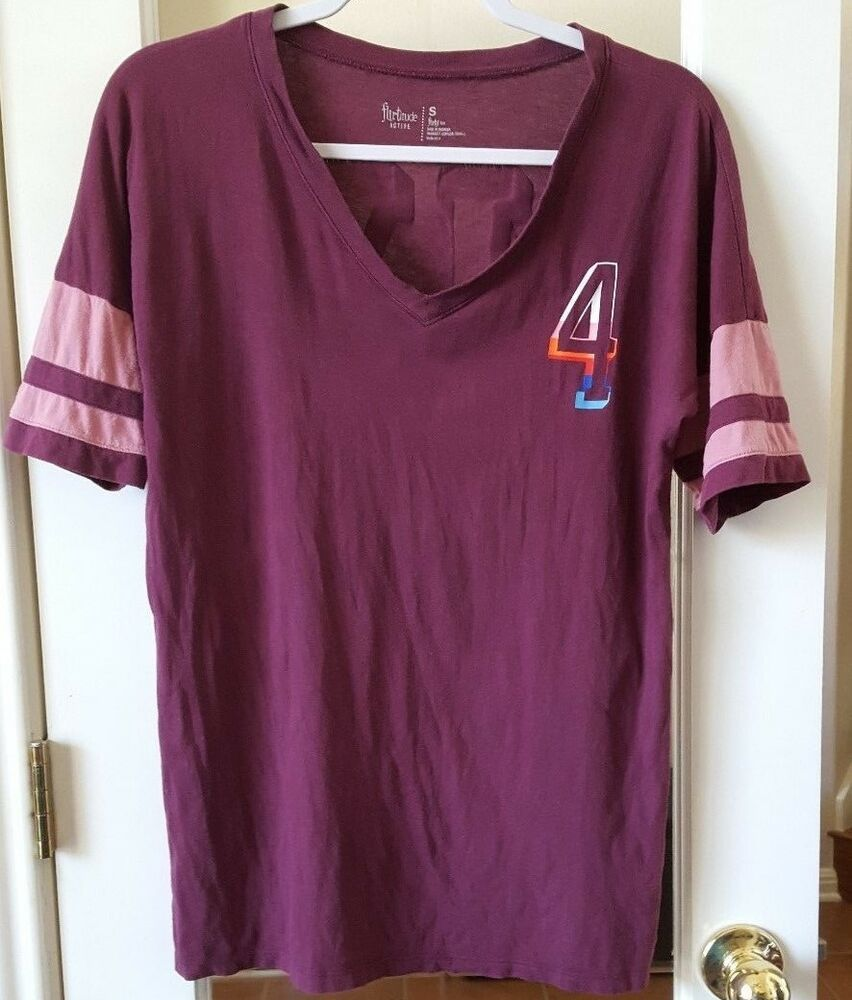 Flirtitude Active V Neck T Shirts Color Maroon Women Size Small Fashion Clothing Shoes Accessories Womensclothing Tops Ebay L Colorful Shirts Tops Women