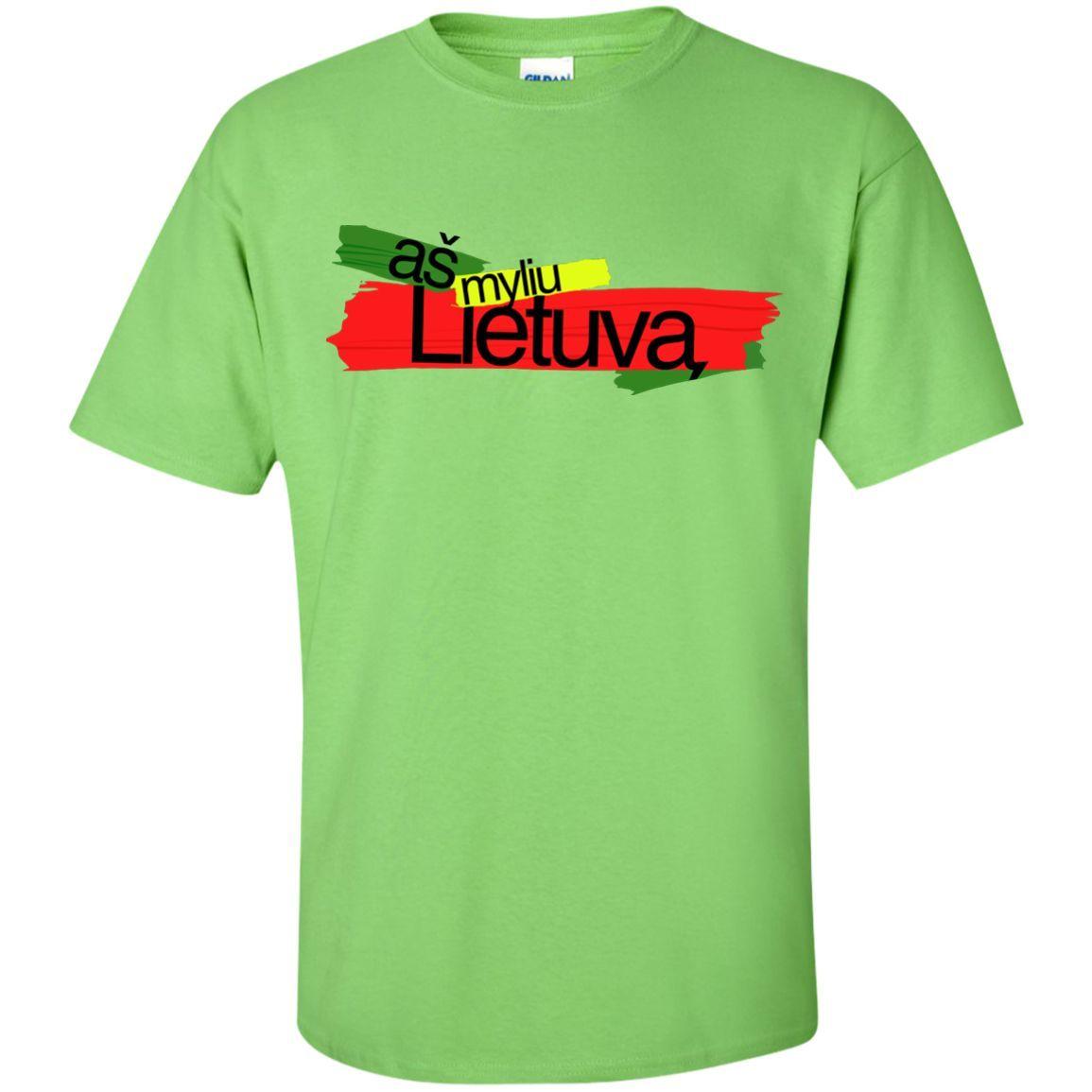 As Myliu Lietuva -- Youth Boys/Girls T-Shirt