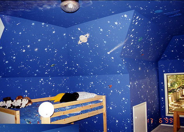 22 Space Themed Room Design Ideas For A New Atmosphere In Your