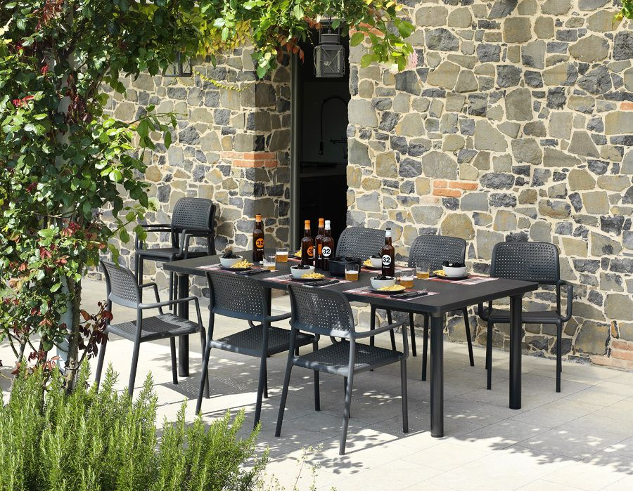 Sedie Adirondack ~ Best tavoli e sedie da giardino images charcoal