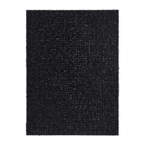 ydby paillasson int rieur ext rieur noir 58x79 cm paillasson ikea et am nagement studio. Black Bedroom Furniture Sets. Home Design Ideas