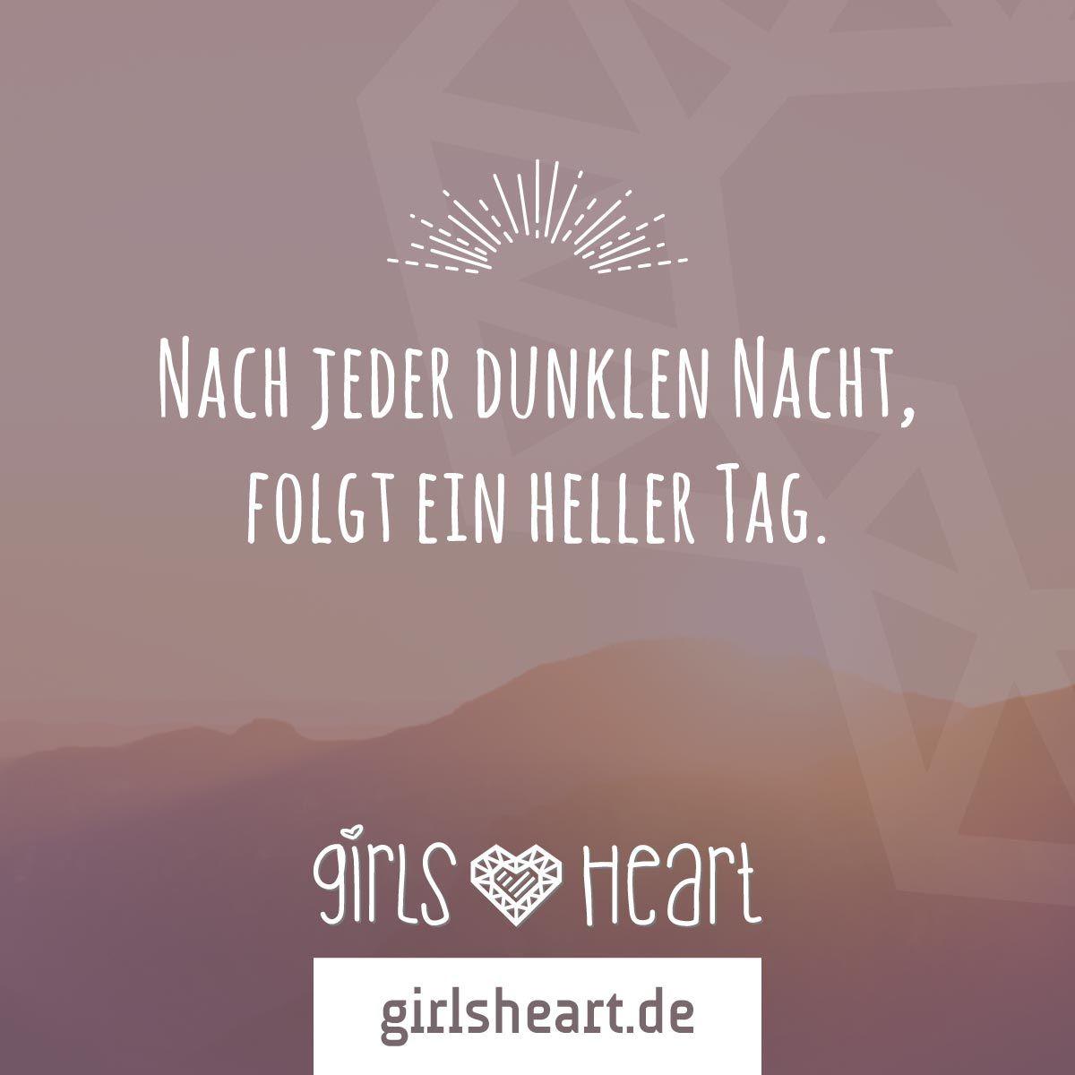 Morgen Sieht Alles Schon Ganz Anders Aus. Mehr Sprüche Auf: Www.girlsheart.