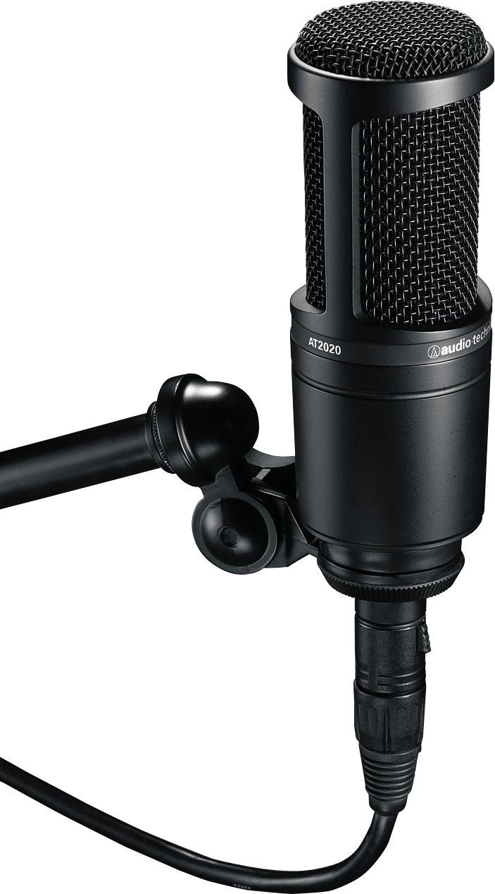 Audio Technica At2020 Condenser Mic Microphone For Recording Microphone Audio Technica