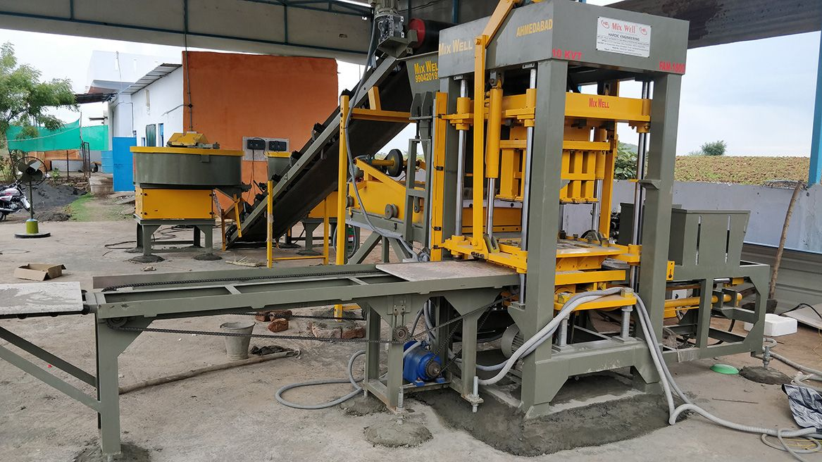 Pin By Brickmachinery On Automatic Fly Ash Brick Making Machine India Hardic Engineering Fly Ash Bricks Making Machine Brick