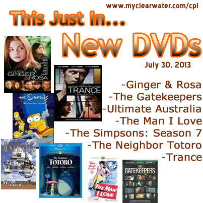 New DVDs July 30, 2013