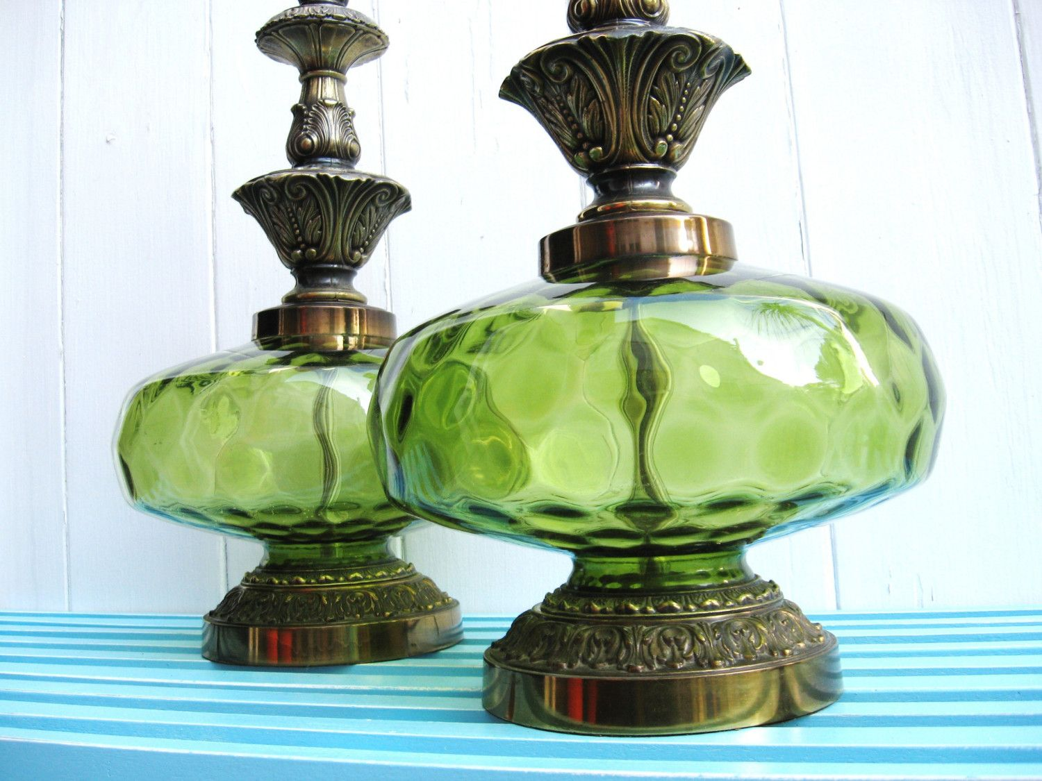 Beautiful Vintage Table Lamps
