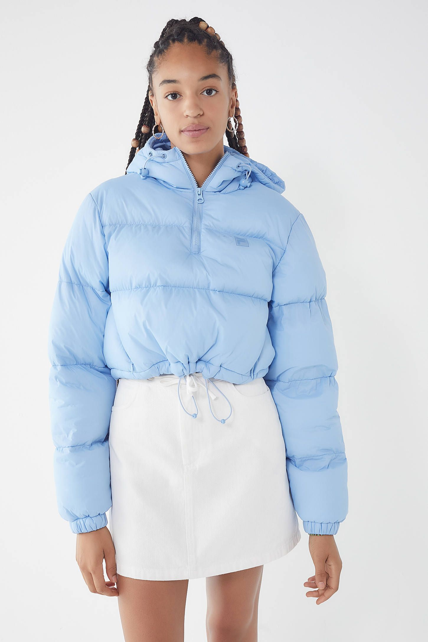 9253a9befe4d FILA UO Exclusive Nariko Cropped Puffer Jacket in 2019