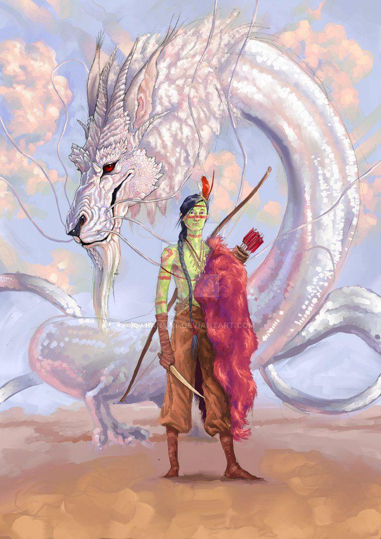 Los Dragones Sí Existen Fújur Dragón Blanco De La Suerte Criatura