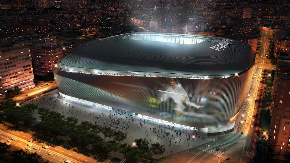 Modernization of the Estadio Santiago Bernabéu