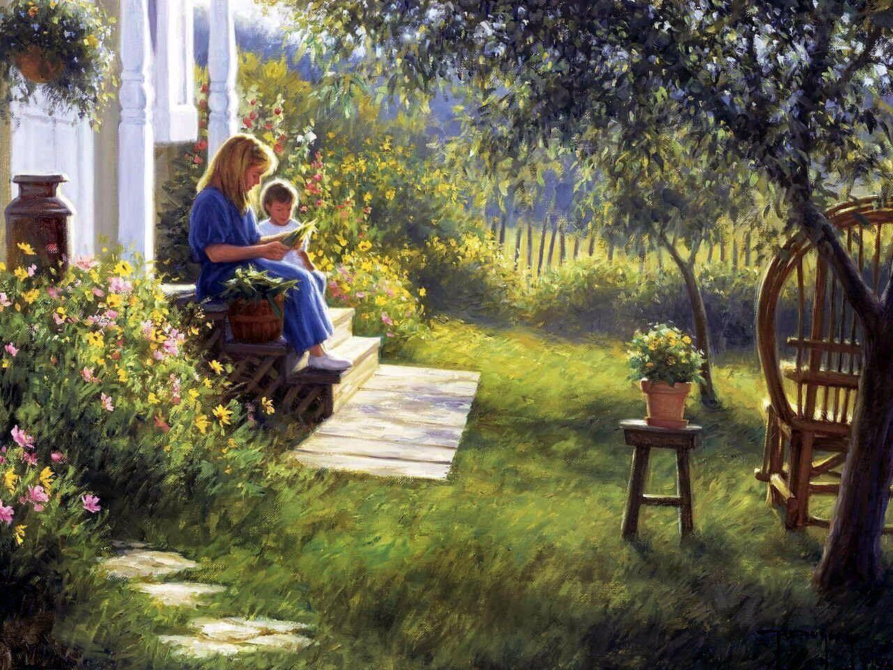 картинки садов-я сел общения сказывается душевном