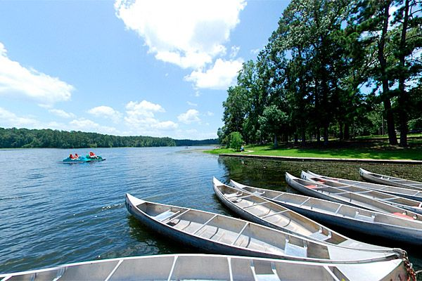 Escape houston traffic for the tranquility of huntsville for Fishing spots in dallas