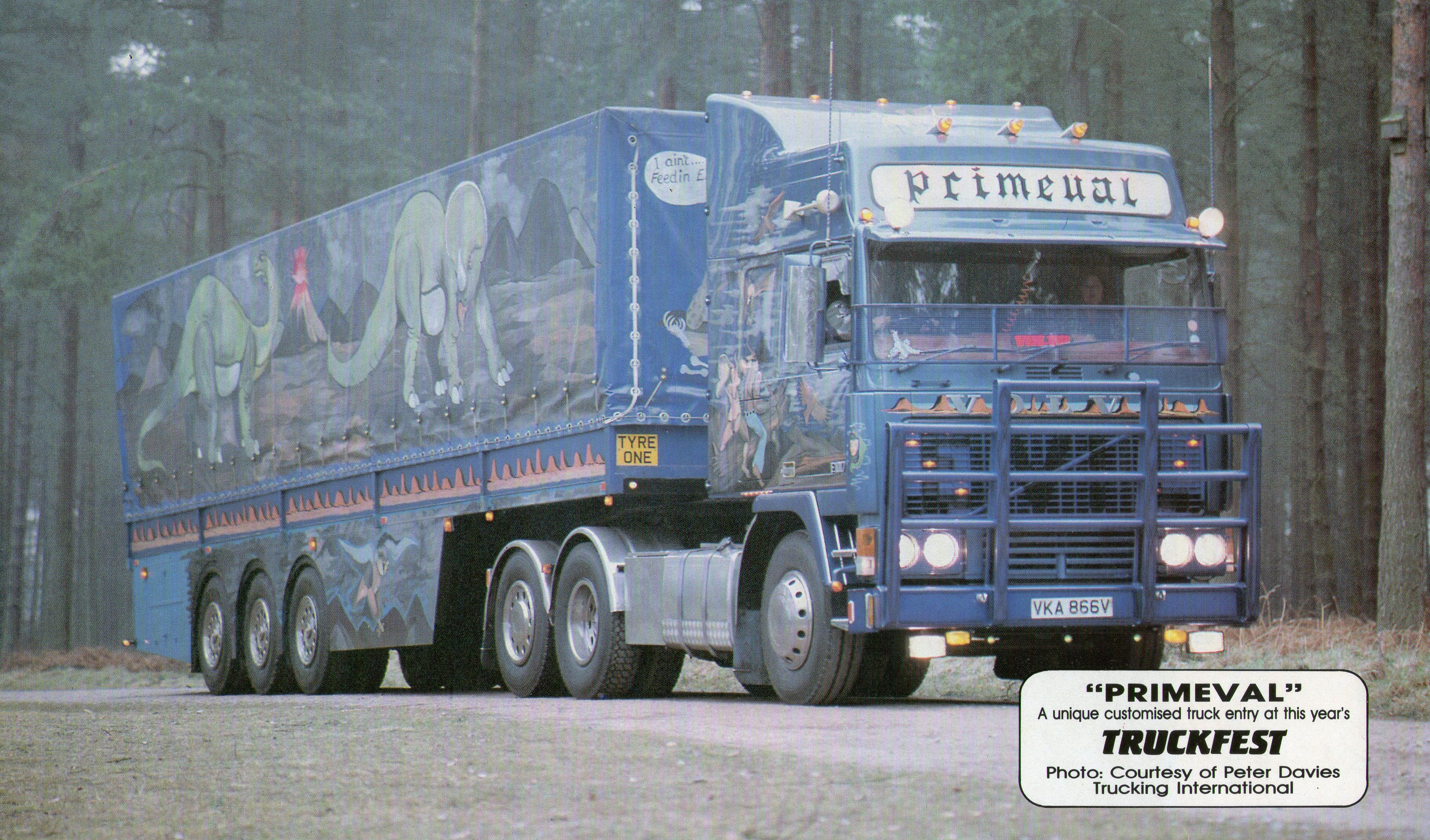 Custon Volvo F12