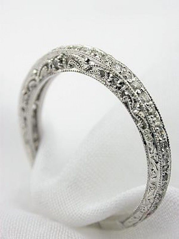 Engagement Rings A Simple Ornate Vintage Band Style Wedding Ring With Filigree 19 Diagrams That Will Make Your Life