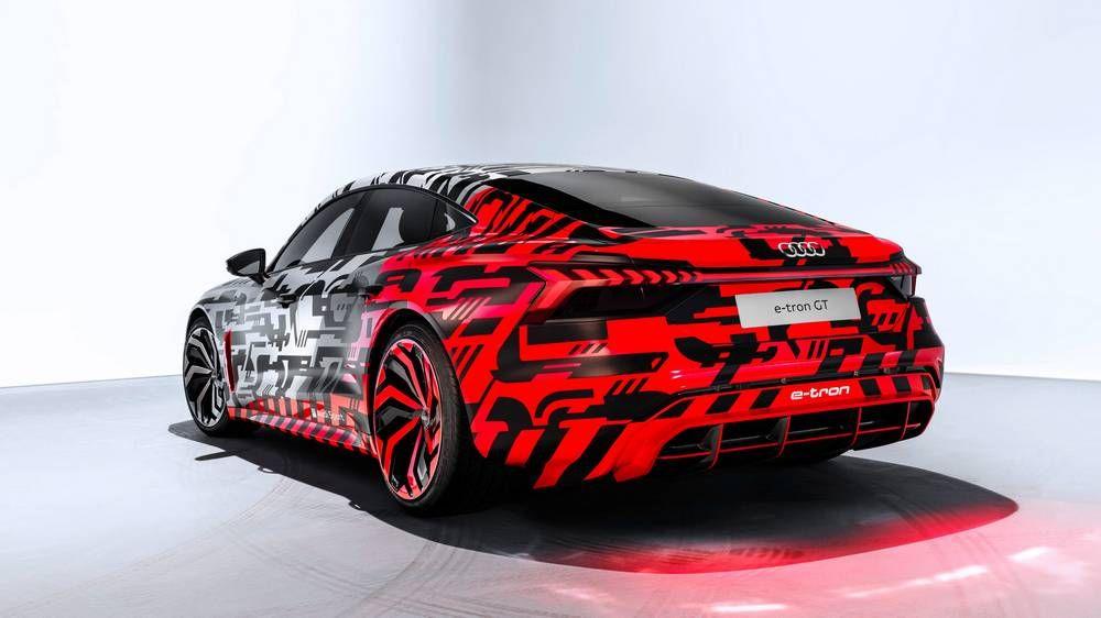 Audi e-tron GT concept unveiled | wordlessTech