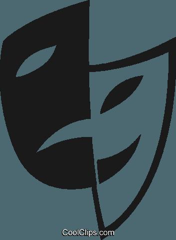 as m scaras da com dia drama livre de direitos vetores clip art rh pinterest com drama clip art free drama clipart black and white
