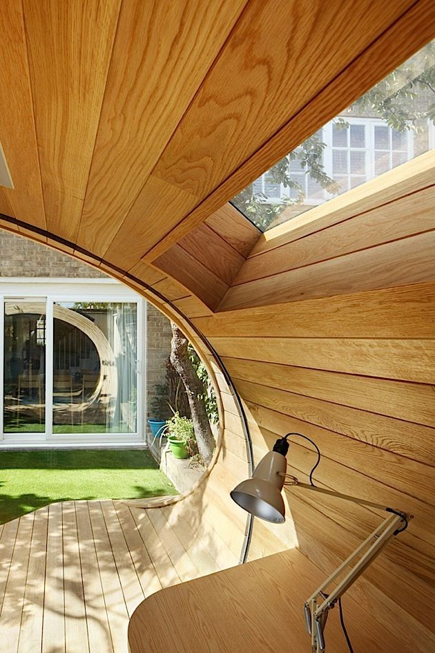 Shoffice (shed+office)Garden Pavilion With Office   Design Platform 5  Architects