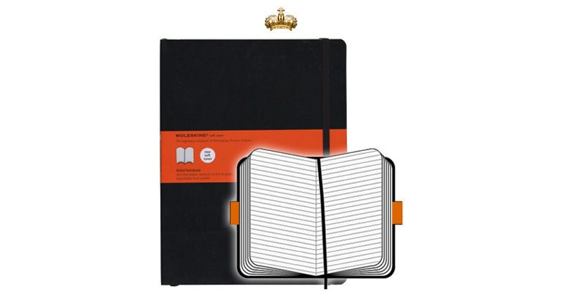 Moleskine XL Softcover Notebook