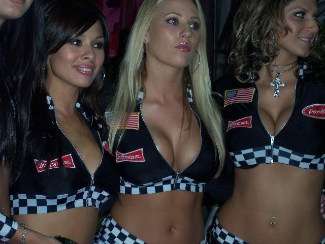 girls at nascar races Hot