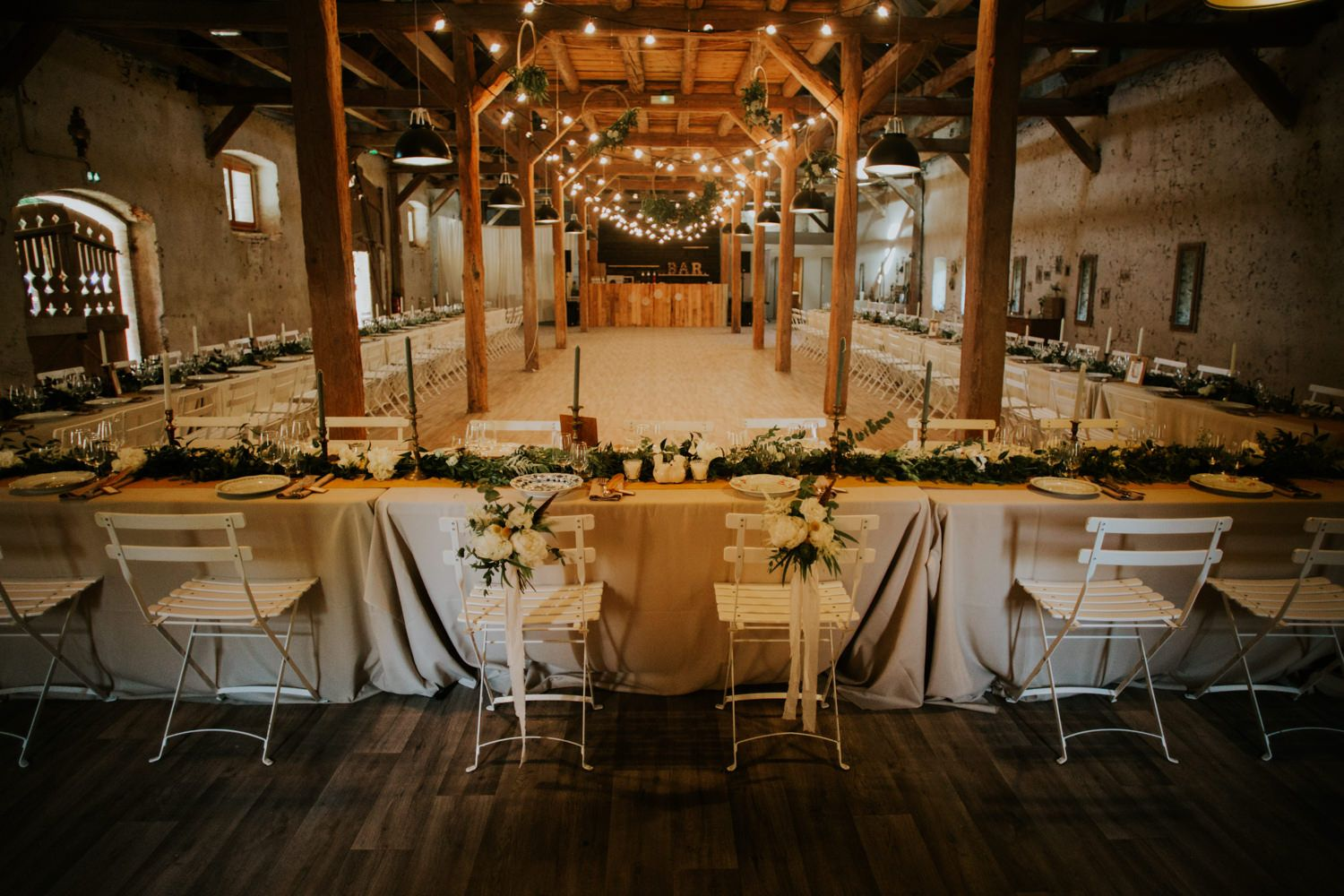 Outdoor Chic Rustic French Wedding At Le Morimont Styled By