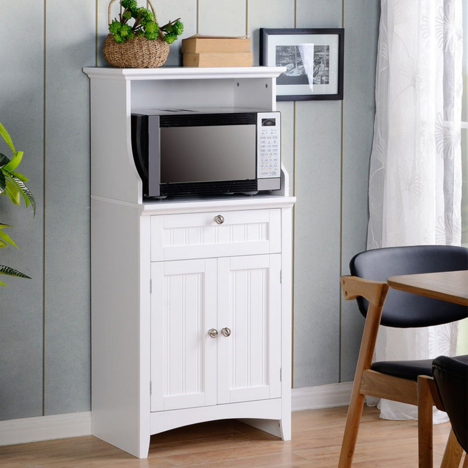 American Furniture Classics OS Home and Office Microwave/Coffee ...