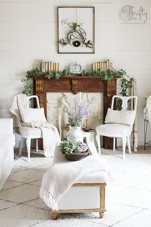 Spring Living Room Decorating Ideas Front Living Room Tour 2020 In 2020 Spring Living Room Decor Spring Living Room Fireplace Decor