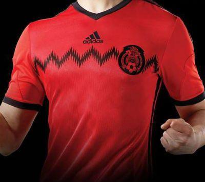 bea10050035cc Playera Roja Seleccion Mexicana 2014