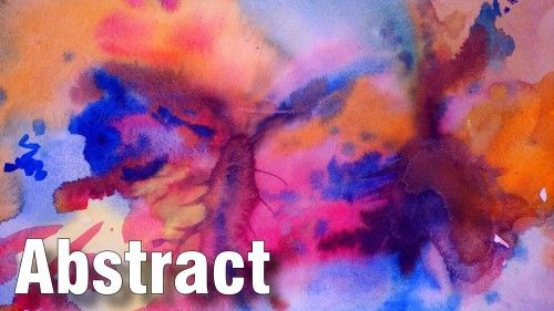 The Art Of Abstract Painting In Watercolour Online Art Lessons
