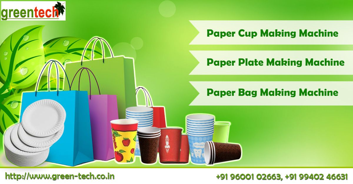 We Are Green-tech, we are the best paper cup machine