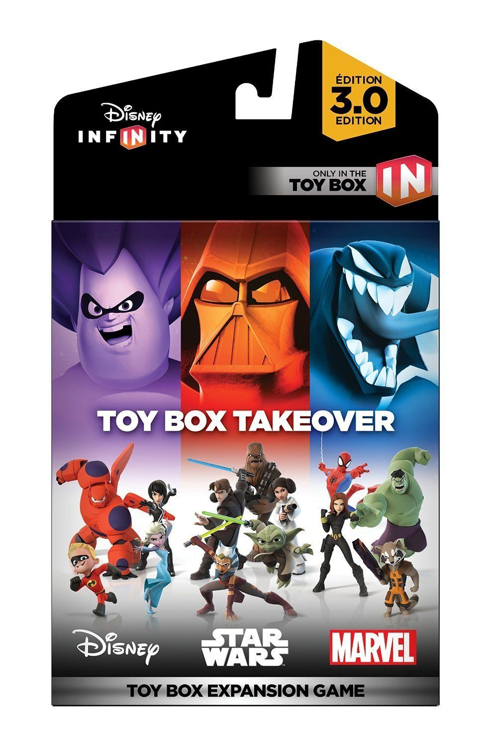 Disney Infinity 3.0 Edition Toy Box Takeover or Speedway