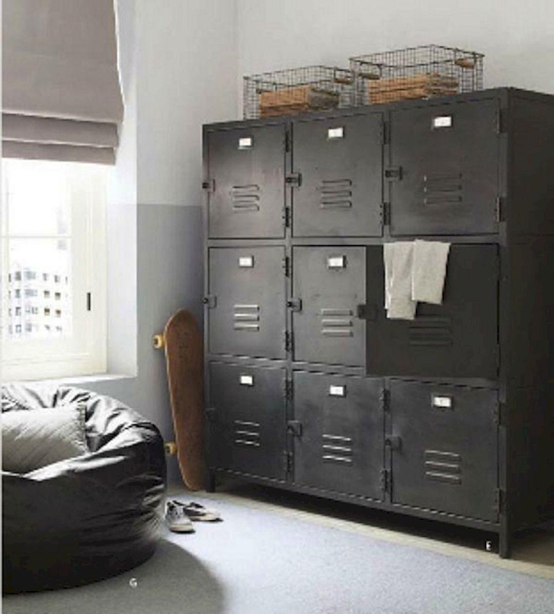 11 Stunning DIY Bedroom Storage Ideas  Locker storage, Storage