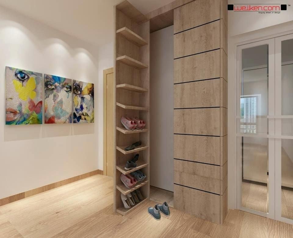 Awesome Modern Shoe Cabinet Design For 53 Modern Shoe Racks Design