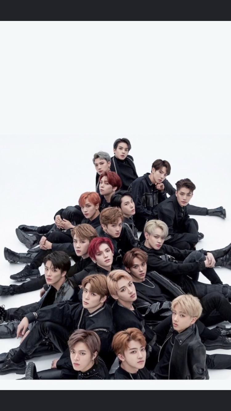 NCT 2018 BLACK ON BLACK | Kpop | Nct, Nct 127, Nct dream