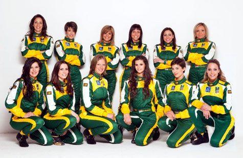 Lotus Ladies' Cup team photo
