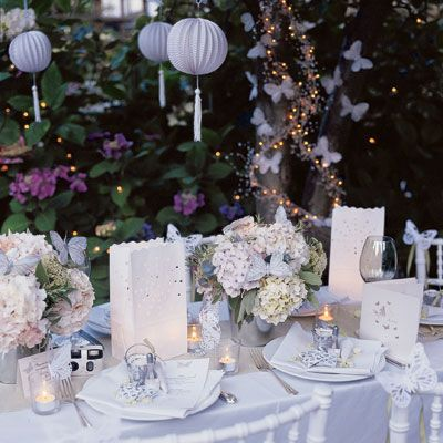 butterfly wedding decorations Butterfly Wedding Inspirations