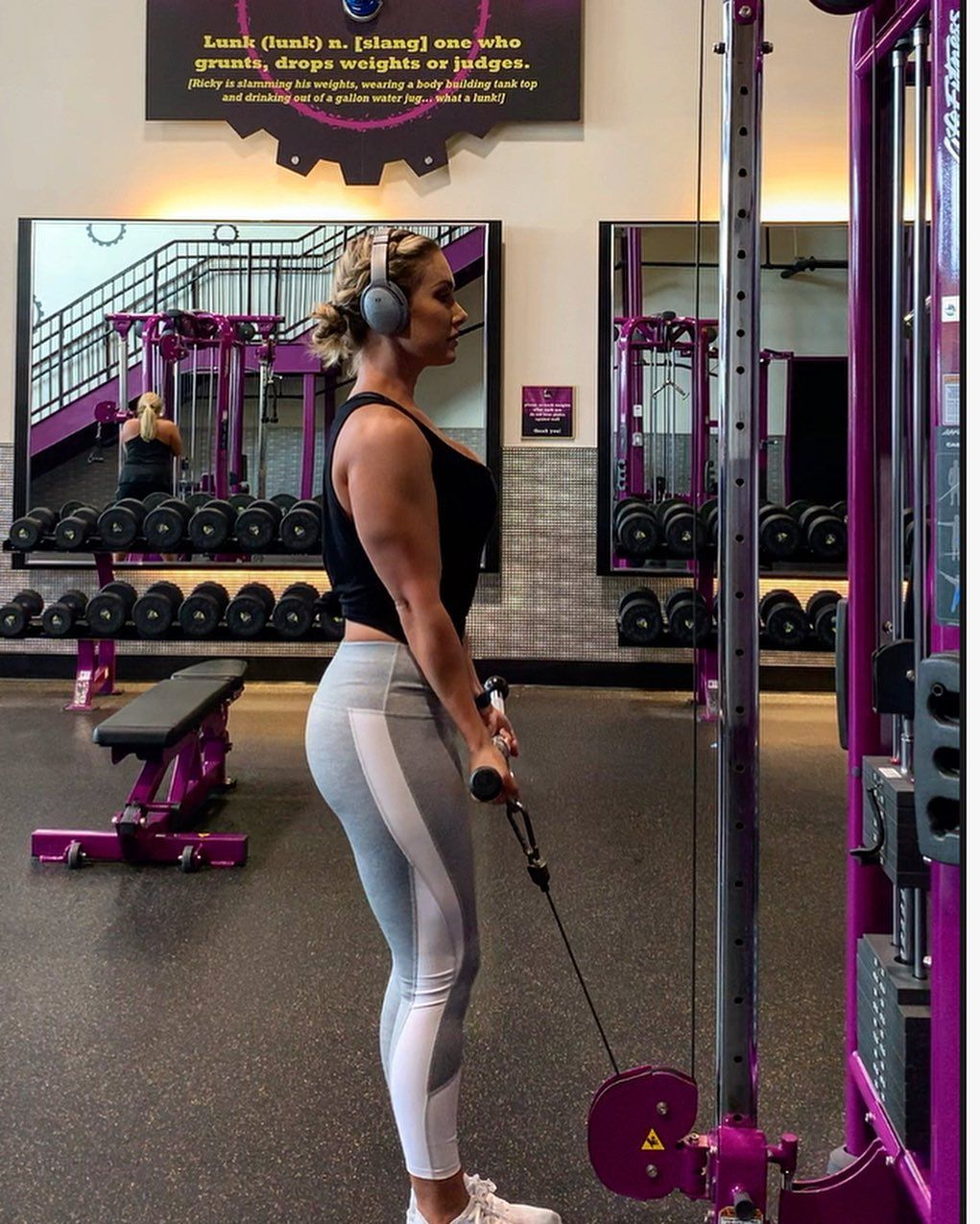 Unhappy That I Was Unable To Set Off The Lunk Alarm As Usual Planetfitness Sundayfunday Planet Fitness Workout Southern Belle Shelby Lynn