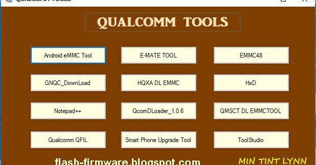 DownloadQualcomm All In One Tool Feature: Android eMMC Tool E-Mate