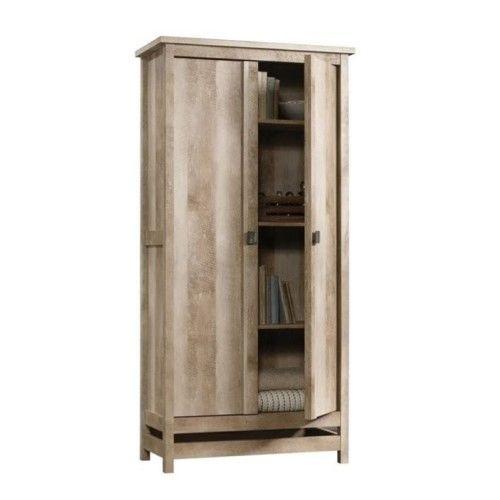 Pemberly Row Storage Cabinet in Lintel Oak (Brown)