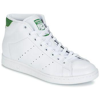 Hoge+sneakers+adidas+Originals+STAN+SMITH+MID+Wit+99.99+ ...