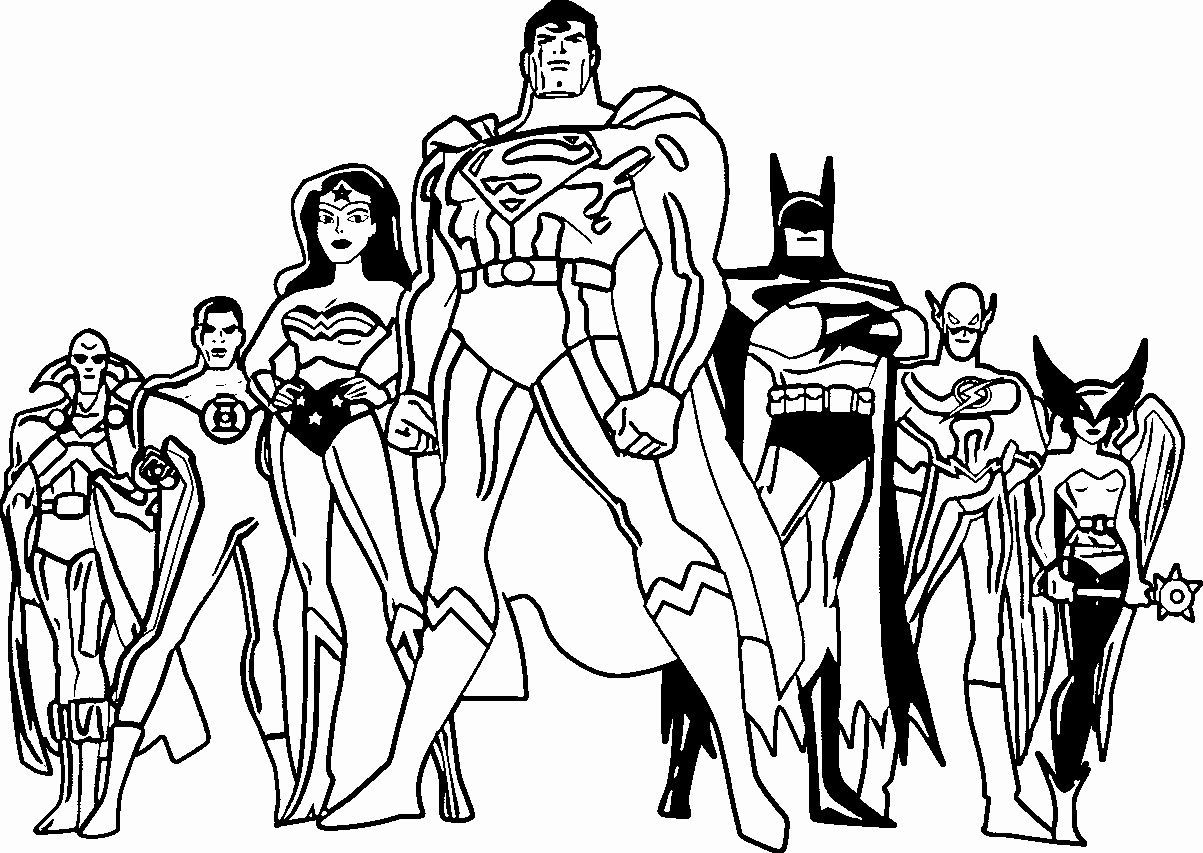 Justice League Coloring Page Best Of Justice League Coloring Pages Best Coloring Pages For Kids Witch Coloring Pages Coloring Pages Coloring Books