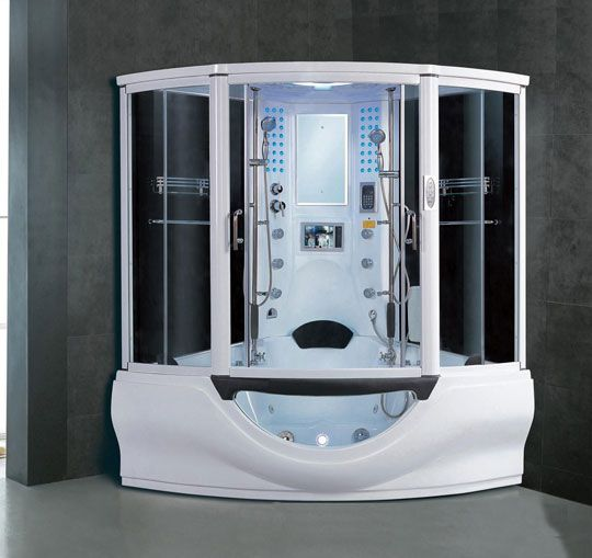 Look The Coolest Shower In America Shower Cabin Shower