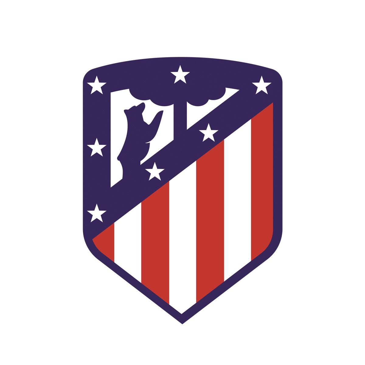 Atletico Madrid Logo Spanyol Olahraga