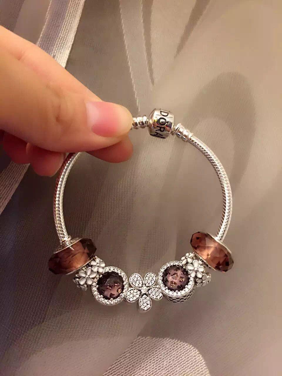 Pandora Sterling Silver Charm Bracelet CB01834 - Pandora ...