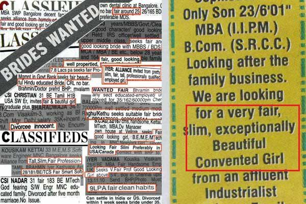 Urgent Fair And Slim Bride Required Love And Marriage Wanted Ads Fair Skin